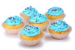 Petits gâteaux de vacances Image libre de droits