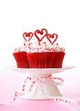 Petits gâteaux de Valentine Photo libre de droits