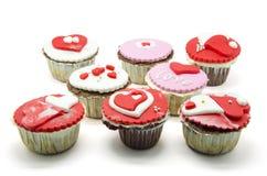 Petits gâteaux de Valentine Photographie stock libre de droits