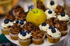 Petits gâteaux et petits pains Photo libre de droits