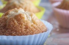 Petits gâteaux fraîchement cuits au four Images stock