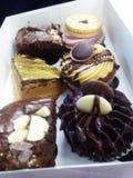 Petits gâteaux merveilleux photos stock