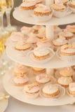 Petits gâteaux multiples Images libres de droits