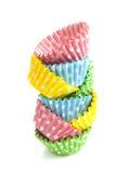 Petits gâteaux pointillés par pile Image libre de droits