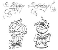 Petits gâteaux Photos libres de droits