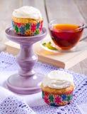 Petits gâteaux de carotte Image libre de droits