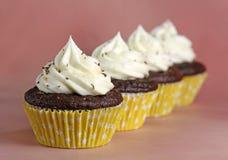 Petits gâteaux de chocolat Images stock