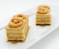 Petits gâteaux mousseline Images libres de droits