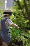 Petits jardiniers. Photo stock