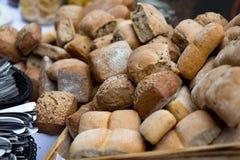 petits morceaux de pain image libre de droits