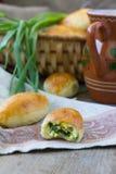 Petits pâtés cuits au four Photo libre de droits