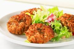 Petits pâtés végétaux images stock