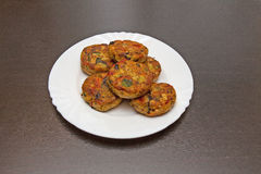 Petits pâtés végétaux Photo libre de droits
