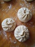 Petits pains à la maison de style chinois Photographie stock libre de droits