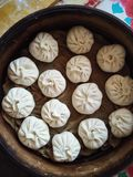 Petits pains à la maison de style chinois Photos libres de droits