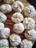Petits pains à la maison de style chinois Photographie stock