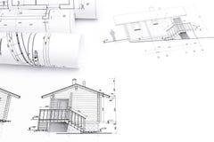Petits pains architecturaux de modèles Photos libres de droits