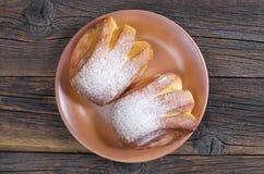 Petits pains avec la confiture Photographie stock libre de droits