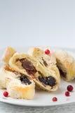 Petits pains avec le raisin sec images libres de droits
