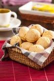 Petits pains brésiliens de fromage Photographie stock