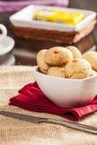 Petits pains brésiliens de fromage Photos libres de droits