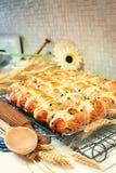 Petits pains croisés chauds Photographie stock