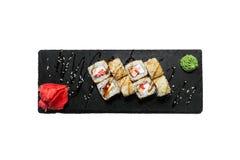 Petits pains croustillants de saumons Photo libre de droits