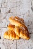 Petits pains cuits au four frais image stock