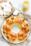 Petits pains d'ours Photographie stock libre de droits