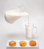 Petits pains de bonbon à lait caillé Images stock