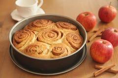 Petits pains de cannelle Photos libres de droits