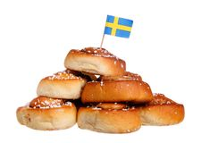 Petits pains de cannelle Image libre de droits