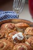 Petits pains de cannelle Images stock