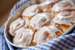 Petits pains de cannelle Photographie stock