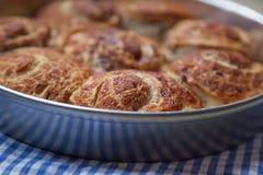 Petits pains de cannelle Photographie stock libre de droits