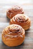 Petits pains de cannelle photo libre de droits
