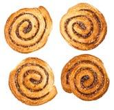 Petits pains de cannelle traditionnels Photos stock