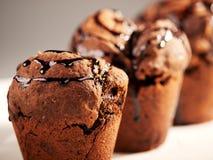 Petits pains de chocolat images stock