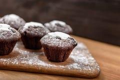Petits pains de chocolat Photographie stock