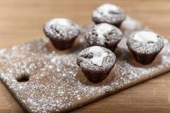 Petits pains de chocolat Photographie stock libre de droits