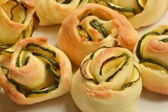 Petits pains de courgette Image stock