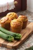 Petits pains de courgette Photos libres de droits