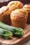 Petits pains de courgette Image libre de droits