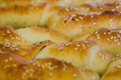 Petits pains de cuisson Photographie stock