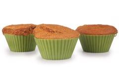 Petits pains de gâteau à la carotte Photographie stock libre de droits