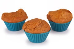 Petits pains de gâteau à la carotte Images libres de droits