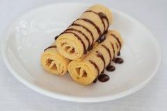 Petits pains de gaufrette Image libre de droits