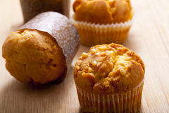 Petits pains de maïs Photographie stock