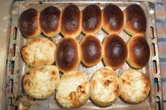 Petits pains de pain cuits au four faits maison image libre de droits