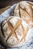 Petits pains de pain d'artisan Images libres de droits